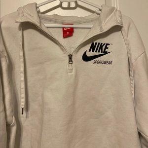 Nike Jackets & Coats - NIKE Oversized Half Zip Hoodie